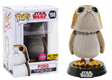 Porg (Flocked, The Last Jedi) 198 - Hot Topic Exclusive  [Damaged: 7.5/10]