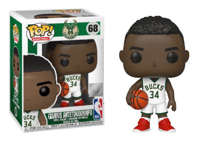 Giannis Antetokounmpo (Milwaukee Bucks, NBA) 68  [Damaged: 6.5/10]