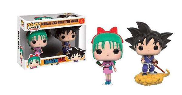 Bulma & Goku with Flying Nimbus (DragonBall) 2-pk  [Condition: 6/10]