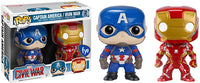 Captain America/Iron Man 2-pk (Civil War) - Fye Exclusive  [Damaged: 7/10]