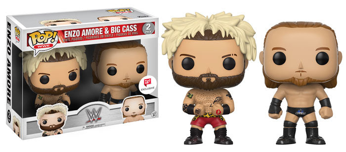 Enzo Amore & Big Cass (WWE) 2-pk - Walgreens Exclusive  [Damaged: 7.5/10]