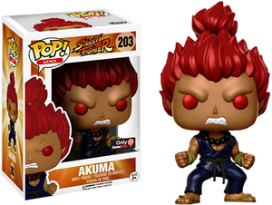 Akuma (Street Fighter) 203 - Gamestop Exclusive  [Damaged: 6.5/10]
