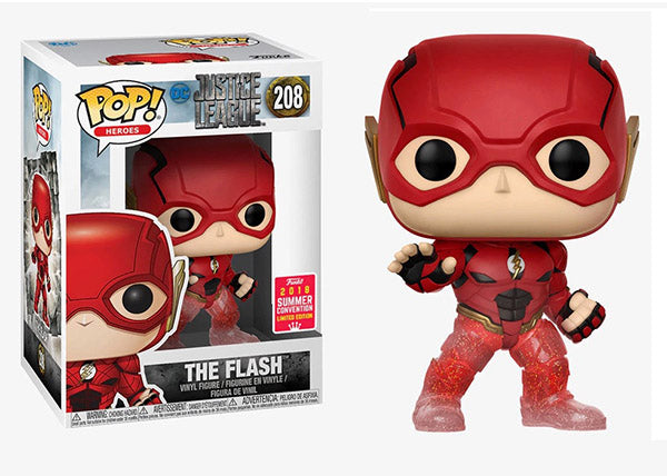 The Flash (Running, Justice League) 208 - 2018 Summer Convention Exclusive  [Damaged: 7/10]