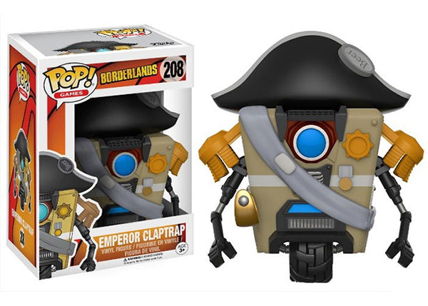 Emperor Claptrap (Borderlands) 208 **Vaulted**
