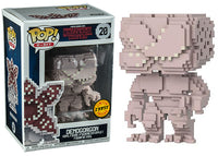 Demogorgon (Closed Mouth, 8-Bit, Stranger Things) 20 **Chase**  [Damaged: 6/10]