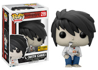 L w/Cake (Death Note) 219 - Hot Topic Exclusive  [Damaged: 7.5/10]