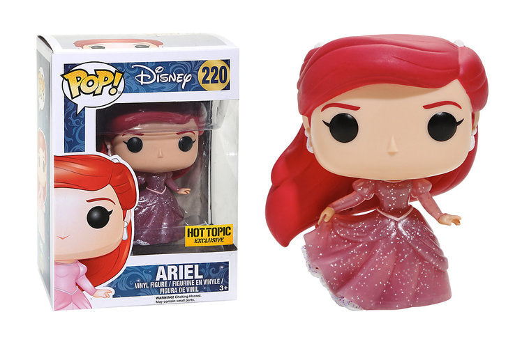 Ariel (Glitter, Translucent, Little Mermaid) 220 - Hot Topic Exclusive Pop Head
