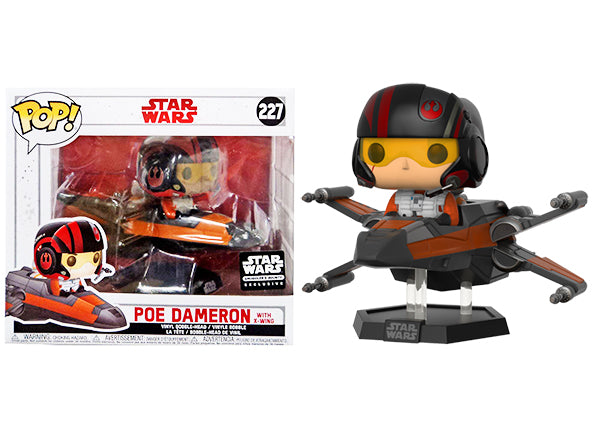 Poe Dameron with X-Wing 227 - Smuggler's Bounty Exclusive  [Damaged: 6/10]