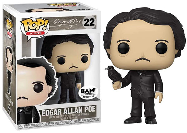 Edgar Allan Poe (Icons) 22 - Books-A-Million Exclusive  [Damaged: 7.5/10]