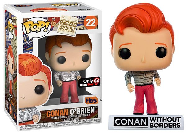 Conan O'Brien (K-Pop, Team Coco/TBS) 22 - GameStop Exclusive  [Damaged: 7.5/10]