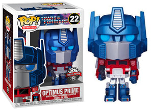 > Optimus Prime (Metallic, Transformers, Retro Toys) 22 - Special Edition Exclusive