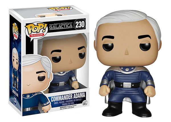 Commander Adama (Classic Battlestar Galactica) 230 **Vaulted** Pop Head