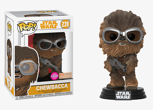 Chewbacca (Flocked, Solo Movie) 239 - Box Lunch Exclusive  [Damaged: 7.5/10]