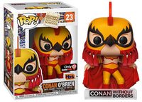 Conan O'Brien (Luchador, Team Coco/TBS) 23 - GameStop Exclusive