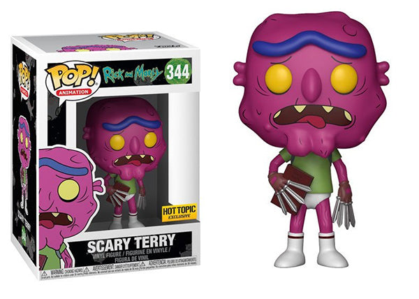 Scary Terry (No Pants, Rick & Morty) 344 - Hot Topic Exclusive