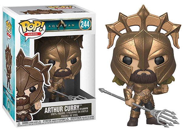Arthur Curry as Gladiator (Aquaman) 244