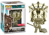 Arthur Curry as Gladiator (Gold Chrome, Aquaman) 244 - Target Exclusive  [Damaged: 7/10]