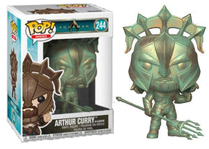 Arthur Curry as Gladiator (Patina, Aquaman) 244  [Damaged: 7.5/10]