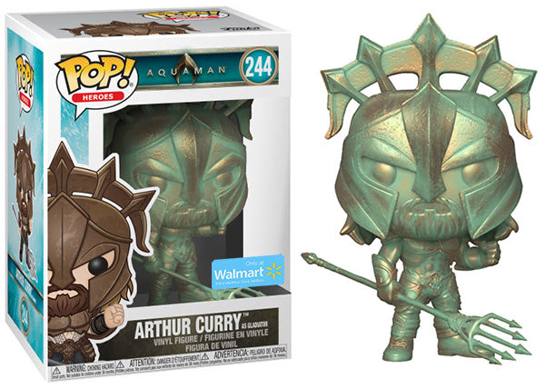 Arthur Curry as Gladiator (Patina, Aquaman) 244 - Walmart Exclusive