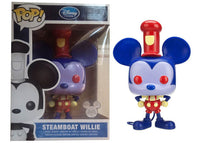 Steamboat Willie (Blue & Red - Redux) - 2013 D23 Exclusive /250 Made [Condition: 8.5/10]