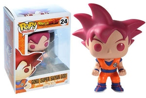 Goku (Super Saiyan God, Dragonball Z) 24 - FUNmation Exclusive Pop Head