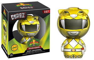 Dorbz Yellow Ranger (Metallic, Mighty Morphin Power Rangers) 257  *Chase**