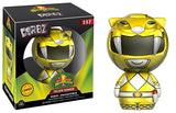 Dorbz Yellow Ranger (Metallic, Mighty Morphin Power Rangers) 257  *Chase**  [Damaged: 7.5/10]