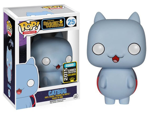 Catbug (Glow - Blue, Bravest Warriors) 25 - 2015 Summer Convention  Exclusive  [Condition: 7.5/10]