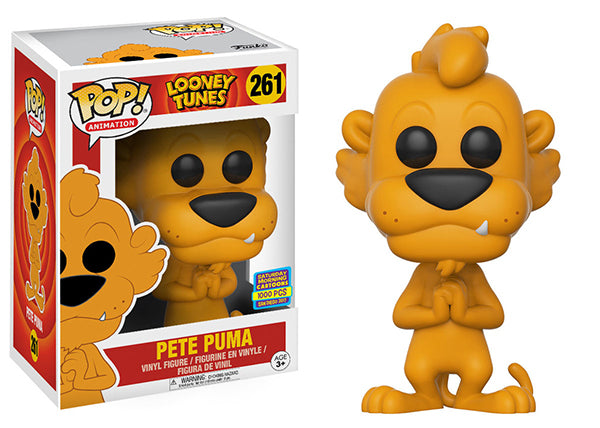 Pete Puma (Looney Toons) 261 - 2017 SDCC Exclusive /1000 Made  [Condition: 6.5/10]