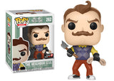 The Neighbor (Axe and Rope, Hello Neighbor) 262 - GameStop Exclusive [Damaged: 6/10]