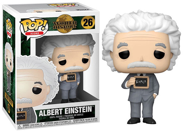 Albert Einstein (Icons) 26  [Damaged: 7.5/10]