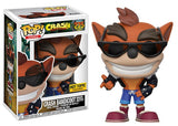Crash Bandicoot (Biker Outfit) 275 - Hot Topic Exclusive  [Damaged: 7.5/10]