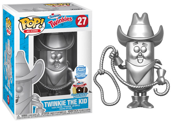 Twinkie the Kid (Platinum, Ad Icons) 27 - Funko Shop Exclusive  [Damaged: 6/10]