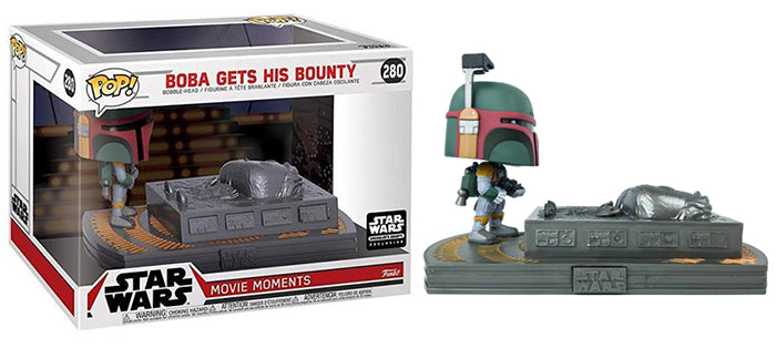 Boba Gets His Bounty (Movie Moments) 280 - Smuggler's Bounty Exclusive
