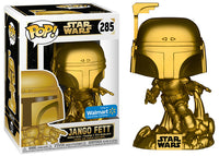 Jango Fett  (Gold, Star Wars) 285 - Walmart Exclusive  [Damaged: 7/10]
