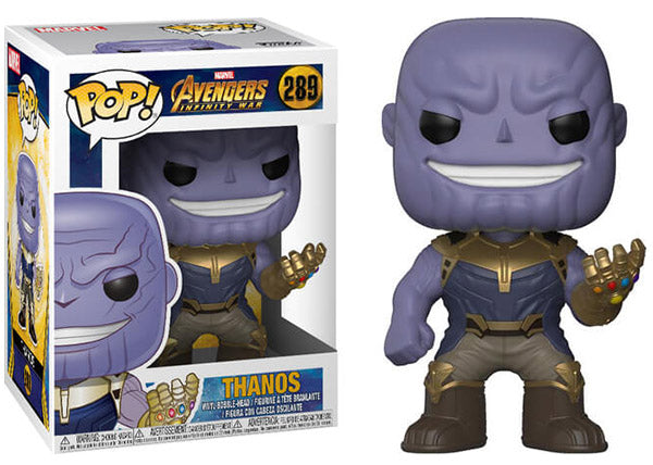 Thanos (Infinity War) 289  [Damaged: 7.5/10]