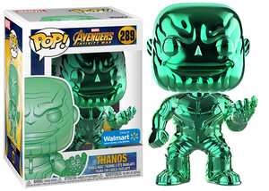 Thanos (Green Chrome, Infinity War) 289 - Walmart Exclusive  [Damaged: 7/10]