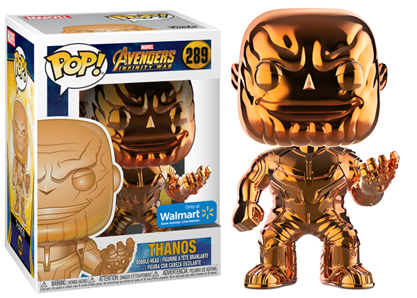 Thanos (Orange, Chrome, Infinity War) 289 - Walmart Exclusive
