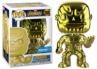 Thanos (Yellow Chrome, Infinity War) 289 - Walmart Exclusive  [Damaged: 7/10]