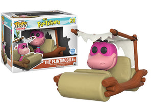 The Flintmobile with Dino (Rides, Flintstones) 28 - Funko Shop Exclusive /6000 made  [Condition: 6/10]