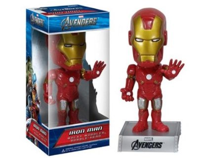Funko Wacky Wobblers Iron Man (Avengers)  [Damaged: 7/10]