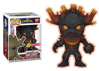 King Groot (Glow in the Dark, Scorched, Gamerverse, Contest of Champions) 297 - Target Exclusive  [Damaged: 7/10]