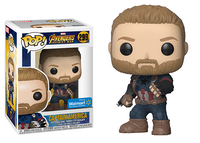 Captain America (Action Pose, Infinity War) 299 - Walmart Exclusive  [Damaged: 7/10]