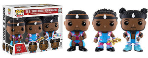 Big E/Xavier Woods/Kofi Kingston (The New Day, WWE) 3-Pack - Toys R Us Exclusive