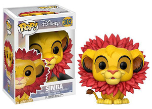 Simba (w/Leaf Mane, Lion King) 302  [Damaged: 6/10]