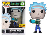 Young Rick (Rick & Morty) 305 - Hot Topic Exclusive  [Damaged: 6/10]