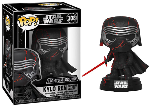 Kylo Ren Supreme Leader (Lights & Sound) 308  [Damaged: 7.5/10]