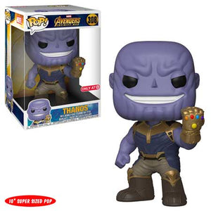 Thanos (10-Inch, Infinity War) 308 - Target Exclusive  [Damaged: 7.5/10]  **Missing Sticker**