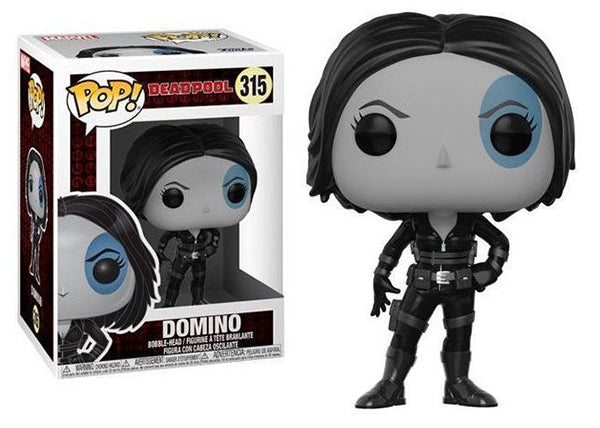 Domino (Deadpool) 315  [Damaged: 6/10]