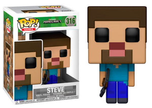 Steve (Minecraft) 316  [Damaged: 6.5/10]
